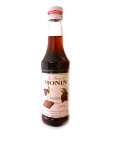Monin Chocolate Syrup 25cl | Buy Online at The Asian Cookshop.